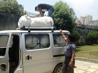Loading of nets
