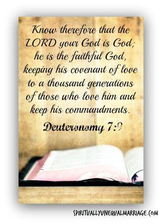 Deuteronomy 7 9