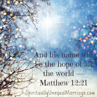 Matthew 12 21