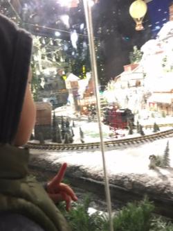 Patty's Son Macy's Train