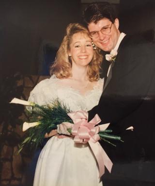 Wedding pic 1992