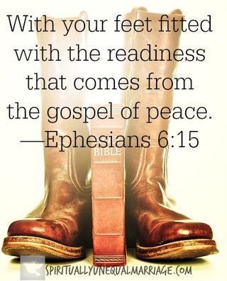 Ephesians 6 15