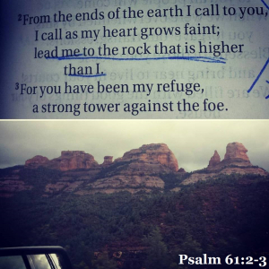 Psalm 61.2-3