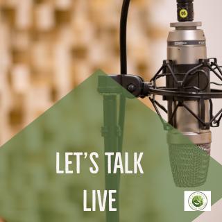 Lets Talk Live Intro Slide
