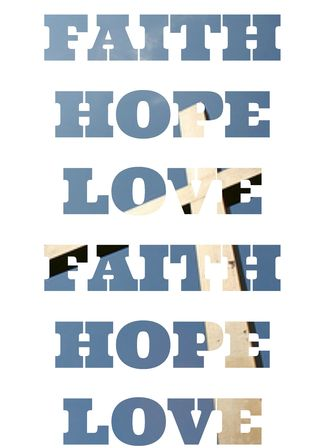 FAITH HOPE LOVE CROSS