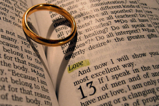 Love ring bible