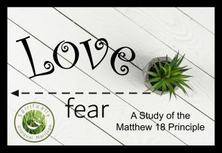 Matthew 18 principle