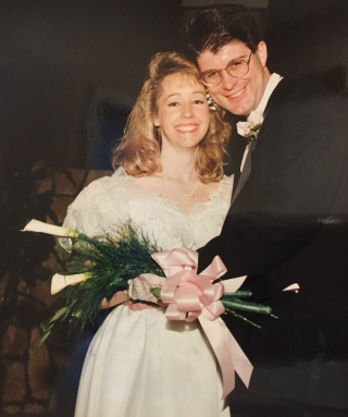 Wedding pic 1992