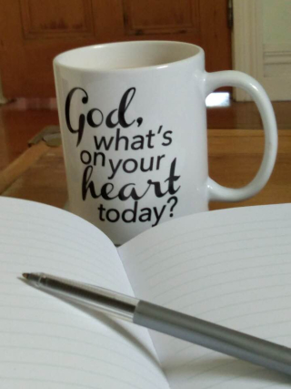 God what's on your heart