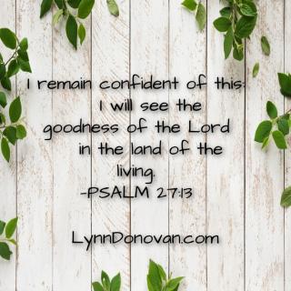 Psalm 27 13 lynndonovan com