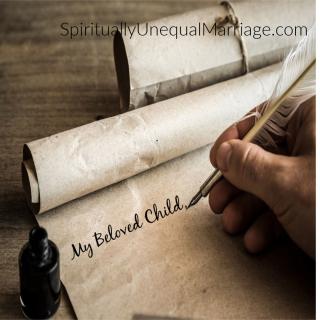 My Beloved Child Letter