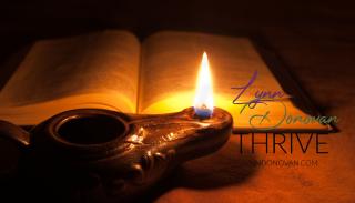 Oil lamp Bible LD Ministries