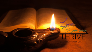 Oil lamp Bible LD Ministries